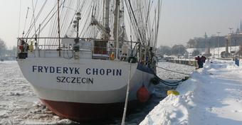 """Jacht """"Fryderyk Chopin"""" obchodzi jubileusz! Urodziny co cztery lata!"""