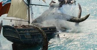 Szklaneczka rumu za burtę i kilka monet dla Neptuna