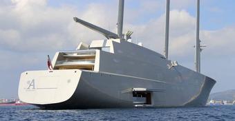 Największy jacht żaglowy świata zatrzymany. Rosyjski oligarcha oszukał stocznię na 15 mln euro?!