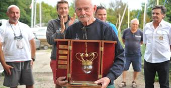 Krzysztof Paul z Pucharem Korsarza