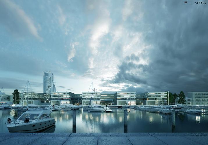 Wizualizacja Nowa Marina Gdynia - Studio Architektoniczne Kwadrat (1)-zdjęcie.72629